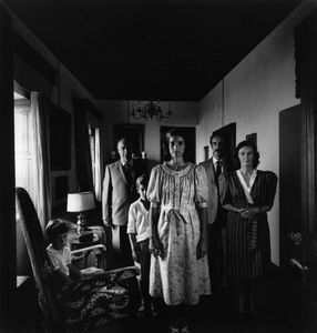 Patrick Faigenbaum, 'Del Drago Family,' 1987. Courtesy of Patrick Faigenbaum. From Why Photography Matters As Art As Never Before © Michael Fried.