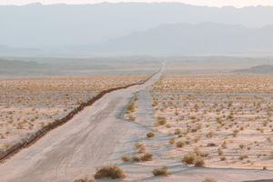 The Line East of Calexico, California