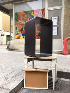 table sculpture-Pâquis