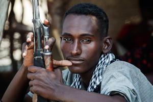 Militia guard from Afar tribe - Ethiopia