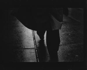 Untitled (Man Raincoat), 2018