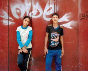 Maya 12, Wael 14, Beirut 2014