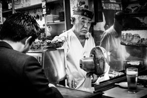 The Man of the Restaurant - Tokyo, 2016