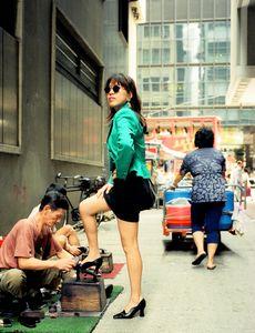 Fashion girl, Hong Kong