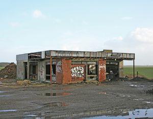 """Station #24, from """"Twentysix Abandoned Gasoline Stations"""" © Eric Tabuchi"""