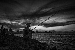 EN EL MALECON, LA HABANA, CUBA 20