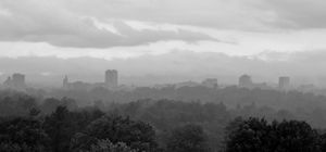 Storm Clouds Over Asheville