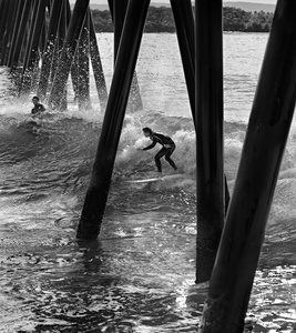 Shooting The Pier