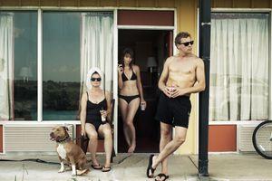 Simone de Vries, filmmaker / Robin de Puy, photographer / Maarten van Rossem, cameraman