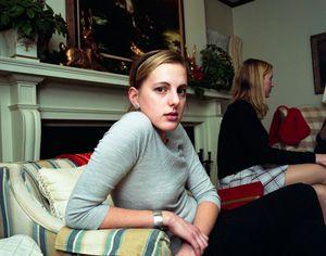 Julia at Thanksgiving, 2004. © Blake Fitch