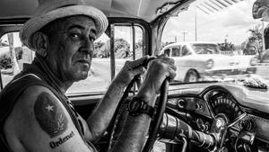 El conductor Comandante Conrado