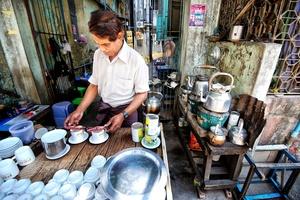 Yangon Starbucks.