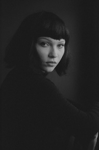 The girl from Yugoslavia.