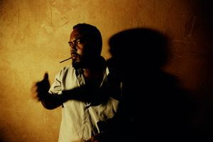 © Alixandra Fazzina, Omar, refugee smuggler, April-December 2008, Bossaso, Somalia. Series: A Million Shillings; Escape from Somalia
