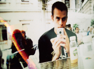 Daniel with compact camera.
