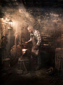 Greg Abel, Blacksmith