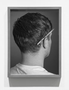 Pencil in Ear, 2014, Pigment print, 16 x 12 inches