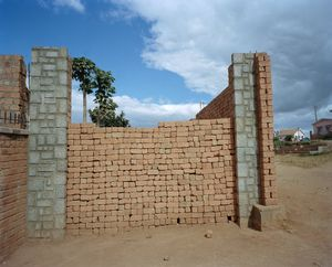 Brick Wall, Antananarivo, Madagascar