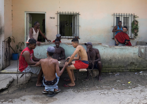 Barrio La Corea. San Miguel del Padrón, Havana, 2016