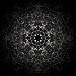 Mandala in Digital Integration Unconsciousness