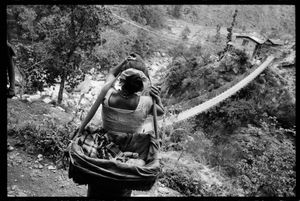 """From the series """"Is This How Women Live?"""" (Nepal) © Marie Dorigny"""