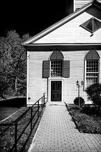 CHURCH DOOR, NEW SALEM, MA.
