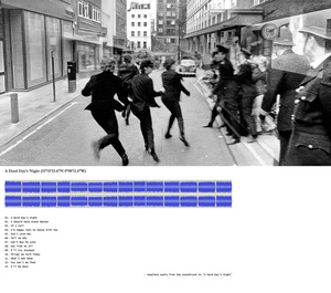 "A Hard Day's Night (51°31'15.6""N 0°08'11.6""W)"