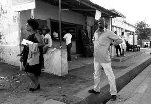 Straddling the Border, Maputo, Angola