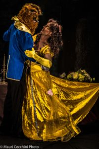 The Beauty and the Beast dancing