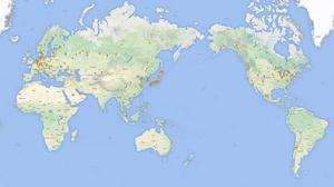 Locations of Polar Bears in Captivity (2014)