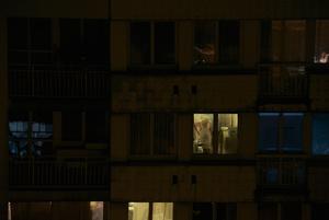 Man at a window, Paris