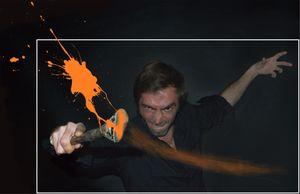 1) Danger! artist at work