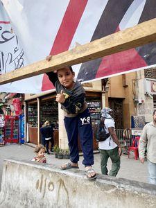 Boy in a Cairo Market