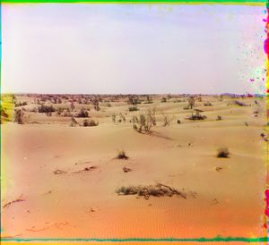"""Dunes, Turkestan, between 1905 and 1915 © Sergei Mikhailovich Prokudin-Gorskii, from the book """"Nostalgia"""". Images courtesy US Library of Congress and Gestalten publishers, Berlin."""