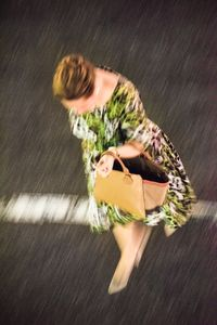 Woman with Handbag, 42nd Street, NYC, 2016