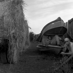 Haymakers at rest. Kargasok. Tomsk region. Russia. 2008.