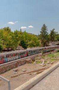 the underground train