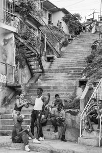 Escalinata de Calle 15, Reparto Altamira, 2016