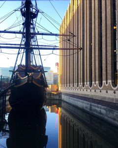 The Golden Hinde And City Towers