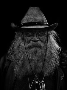 The White Bearded man