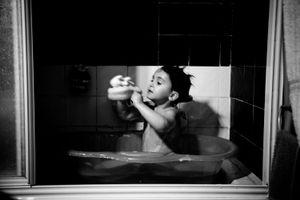 El baño del señorito