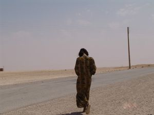Nomad woman in Syria