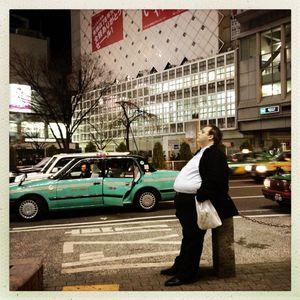 A walk in Tokyo