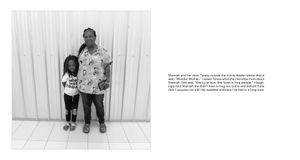 Radius: Teresa with daughter Shamiah who gave me a lovely hug