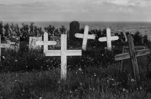 Churchyard Hellnar
