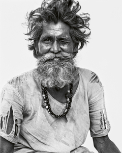 Winking Indian, Delhi, India