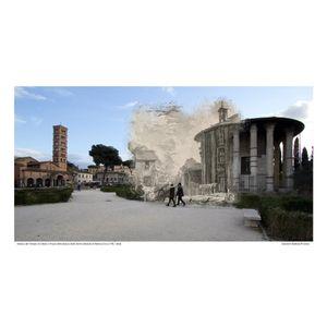 Tempio di Cibele [Vedute di Roma] circa 1778 / 2016