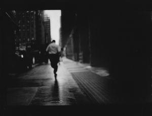Untitled (Man Running), 2017