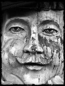 Wooden Figure, Amsterdam