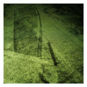 Green carpet.